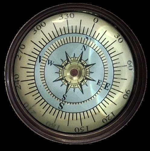 Nautical Paper Weight Compass