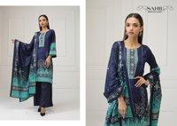 Sahil Printed Lawn Karachi Print Pakistani Style Suits Catalog