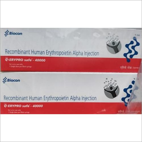 Erypro Safe 40000 IU Recombinant Human Erythropoietin Alpha Injection
