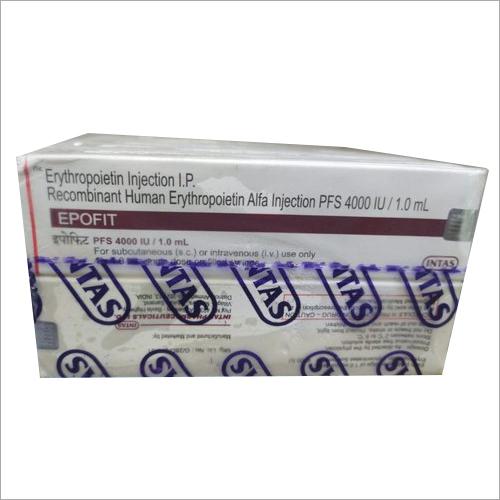 4000 IU Recombinant Human Erythropoietin Alpha Injection