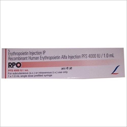 4000 IU Recombinant Human Erythropoietin Alfa Injection