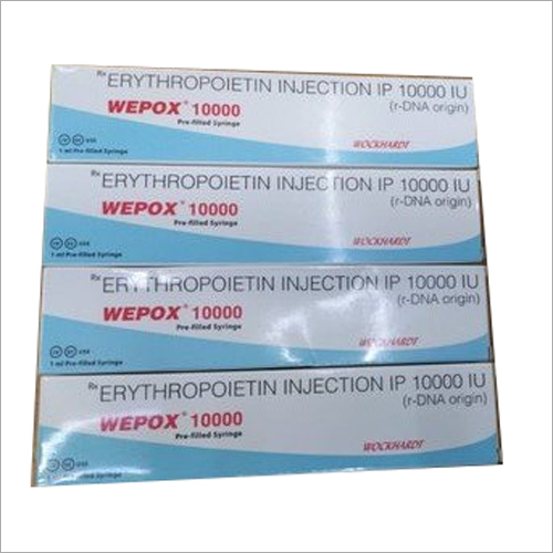 10000 IU Erythropoietin Injection IP