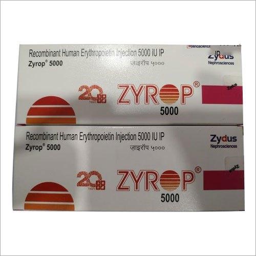 5000 IU Recombinant Human Erythropoietin Injection