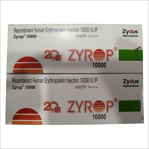10000 IU Recombinant Human Erythropoietin Injection IP
