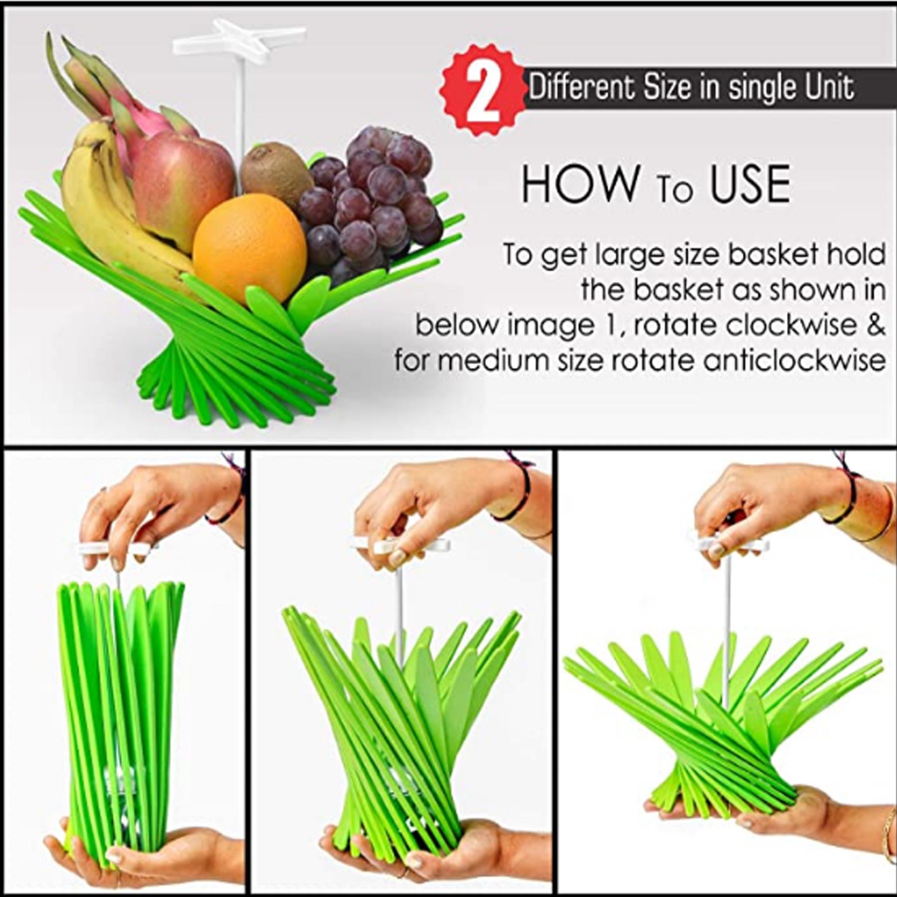 Adjustable Foldable Fruit & Vegitable Basket