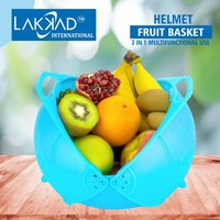 Fruit Basket With Plastic Drainer
