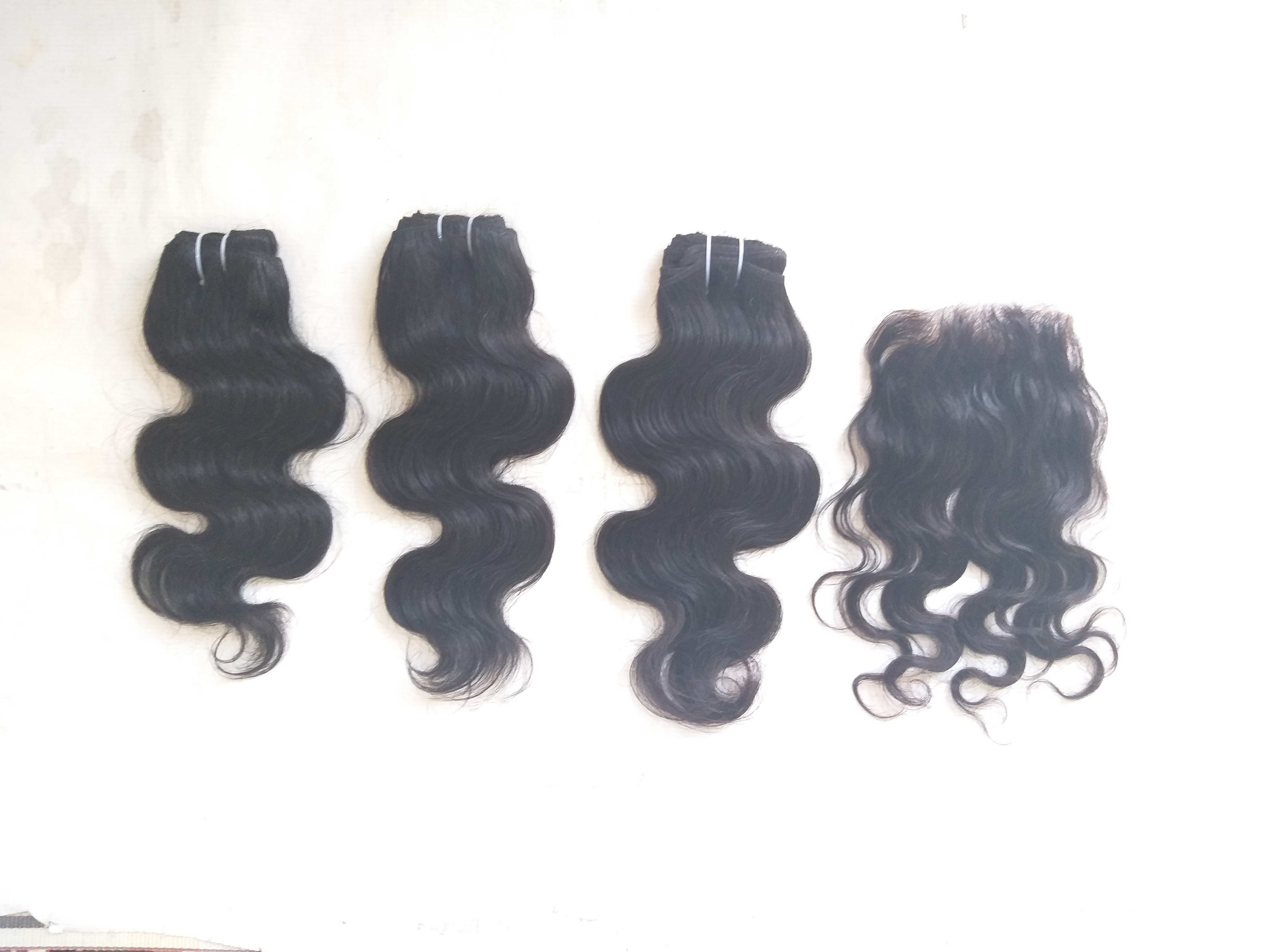 Raw Vintage Body Wave Human Hair Weave