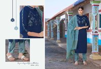 Rangoon Foram Chinon With Work Readymade Salwar Suit Catalog