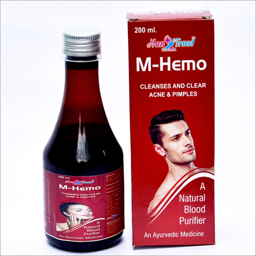 M-Hemo Cleanses & Clear Acne & Pimples