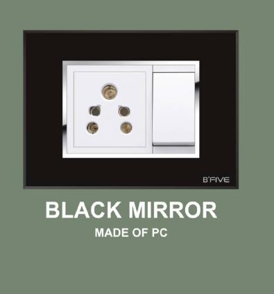 Black Mirror Plate