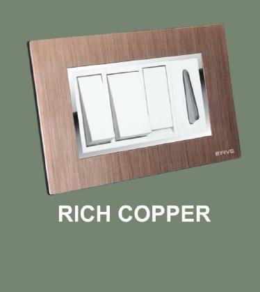 Rich Copper Plate