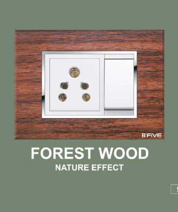 Forest Wood Plate
