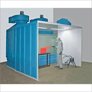 Water Wash Liquid Paint Booth