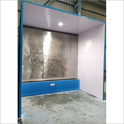 Water Curtain Type Liquid Paint Booth