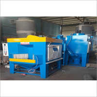 Shot Blasting Machine for Non Stick Cookware