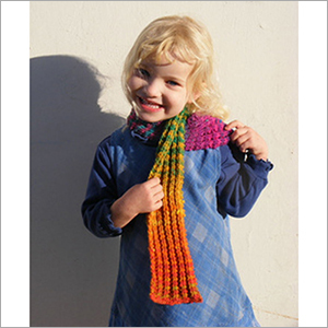 Girls Knitted Stole