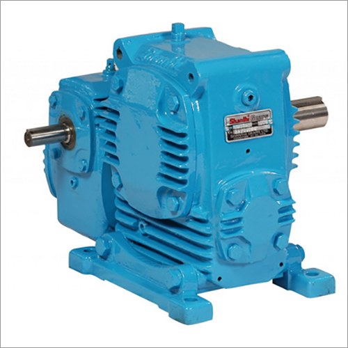 Adaptable Double Reduction Worm Gearbox