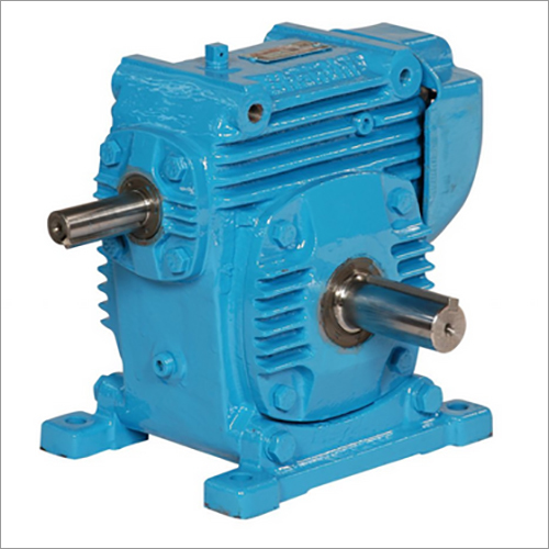Adaptable Over Driven Worm Gearbox