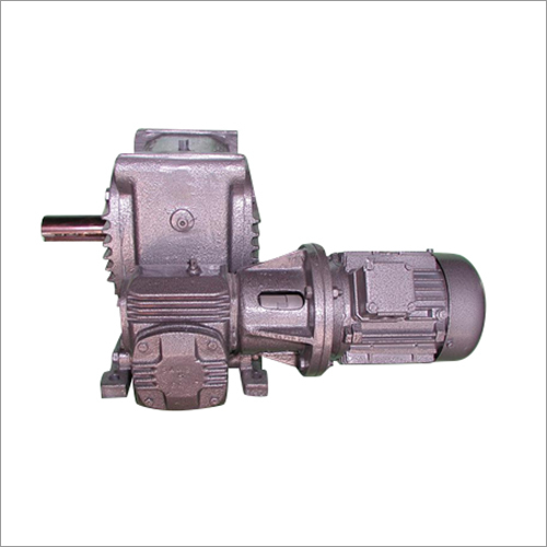 Double Reduction Worm Geared Motor Worm Gearbox