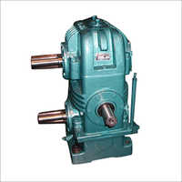 Twin Output Shaft Worm Gearbox