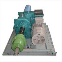 Foot Mounted Two Stage Uncoller Helical Gearbox