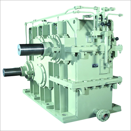 Twin Drive Gearbox For Reversing Cold Mill