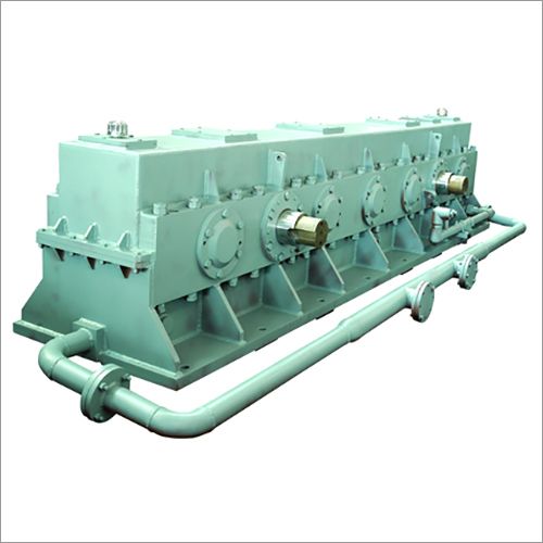 Twin Input & Twin Output Gearbox For Rolling Mill
