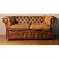 Pure Two Seater Leather Sofa
