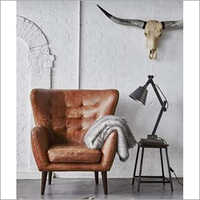 Leather Single Seater Sofa Chair