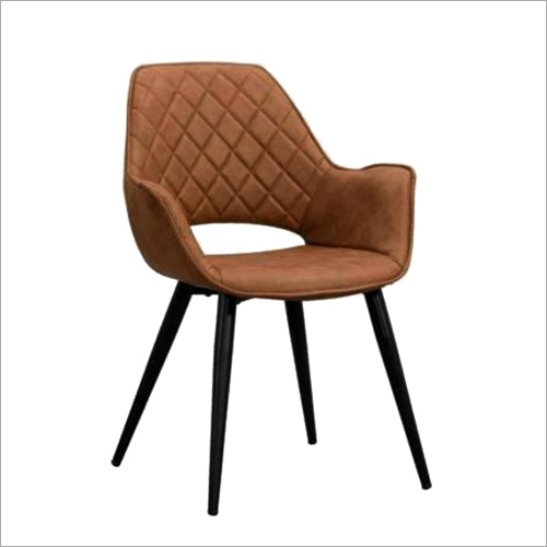 Pure Leather Armrest Chair