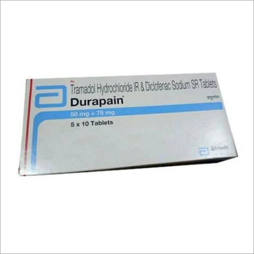 Tramaddol Hydrochloride Ir And Diclofenac Sodium Sr Tablets