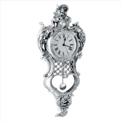 925 Silver Article Analog Wall Clock