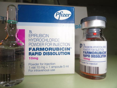 Farmorubicin Epirubicin Rapid Dissolution Injection
