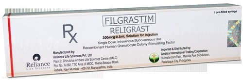 Religrast filgrastim Injection