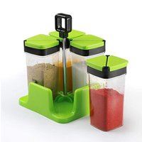 Sprinkles Set 4 pic Spice Rack with Trolley