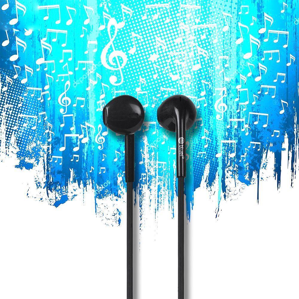 Bluei Badass 3.5mm Jack Superior Sound Stereo Earphone