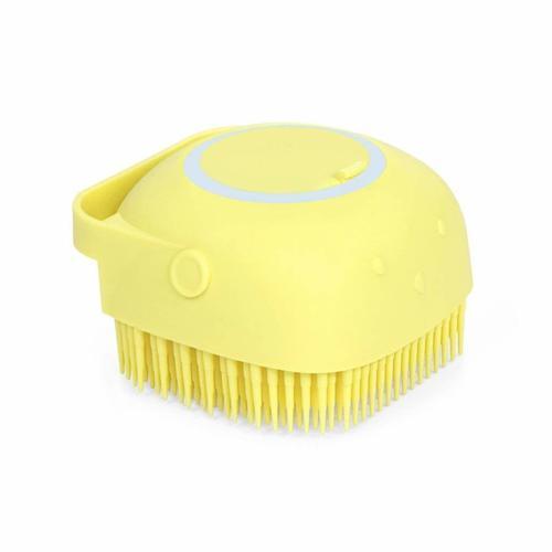 Silicone Massage Bath Body Brush Soft Bristle With Shampoo