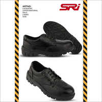 Low Ankle Leather Safety Shoes