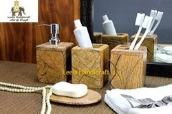 Stone Bathroom Set