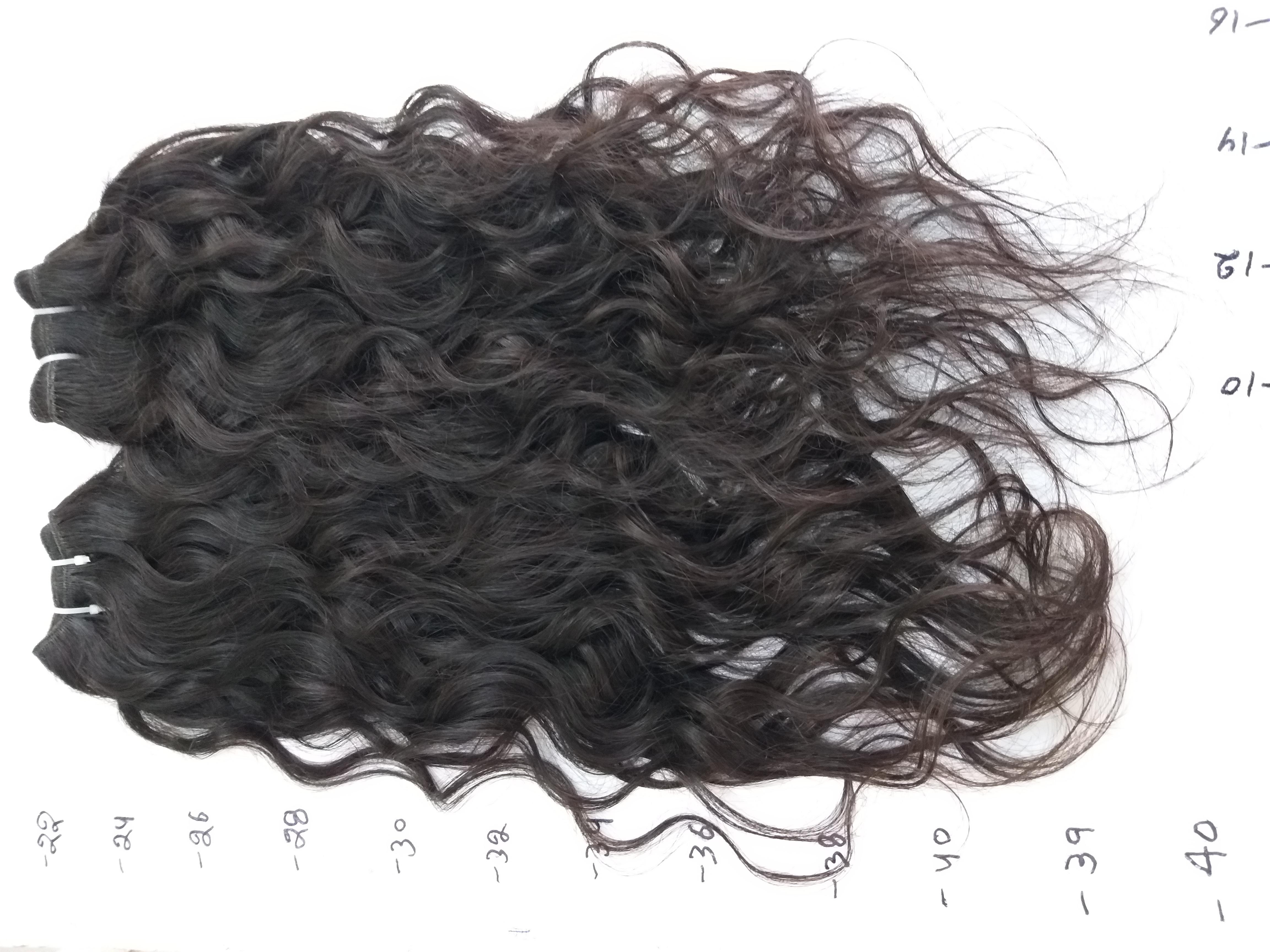 High quality Raw Wavy Human Hair