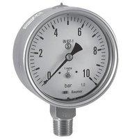 Baumer Waaree Bottom Connection SS Pressure Gauge