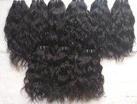 Raw Unprocessed Indian Wavy 100% Human Hair