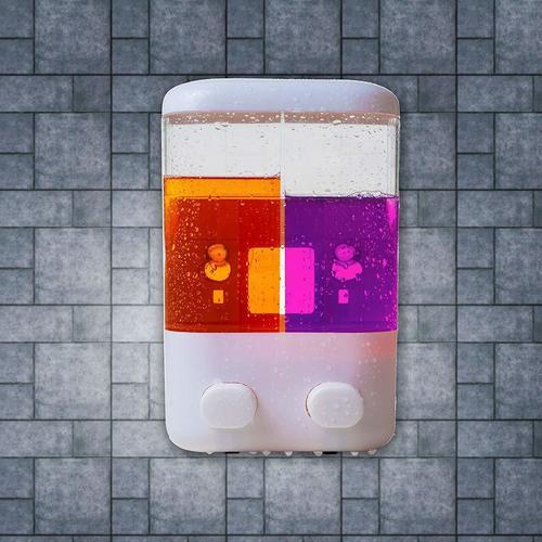 Twin Head Touch Soap Dispenser