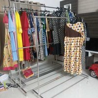 Show Room Cloth Display Stand