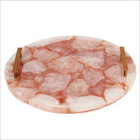 Rose Quartz Trays