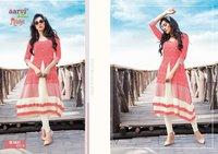Aarvi Fashion Manya Vol 23 Fancy Designer Kurti Catalog