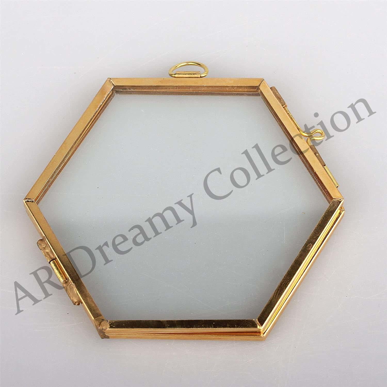 Mini Hexagonal Hanging Photo Frame