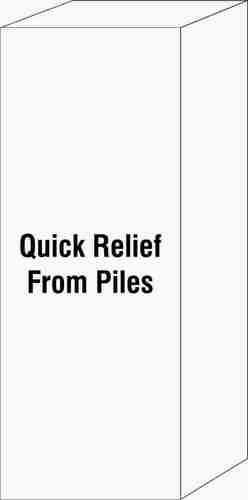 Quick Relief From Piles