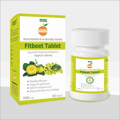 Fitbeet Obesity Tablets Age Group: For Adults