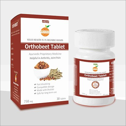 Orthobeet Arthritis Tablet Age Group: For Adults